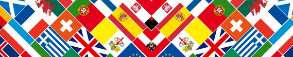 Oxford XXI European country flags