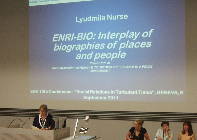 ENRI EAST Geneva ESA (Oxford XXI)