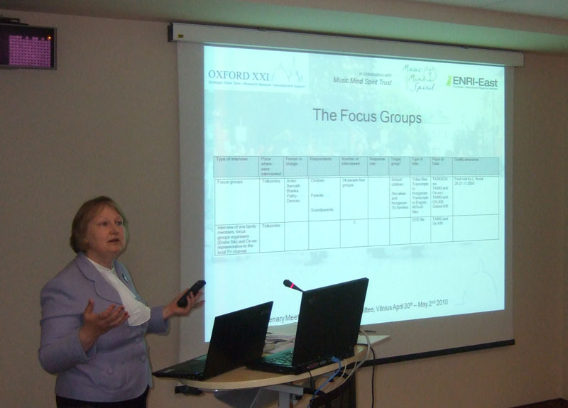 ENRI EAST Project (Oxford XXI)